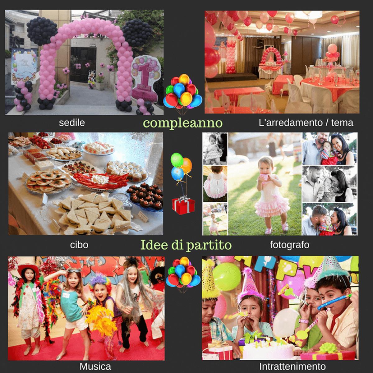 Sorprese Per Un Compleanno sei idee facili per pianificare una prima festa di