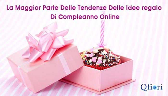 Regali di compleanno online