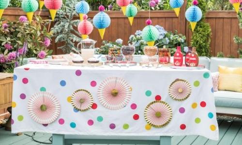 Famoso Le 6 Idee di Decorazione per Feste di Compleanno Più Popolari - Qfiori EW02