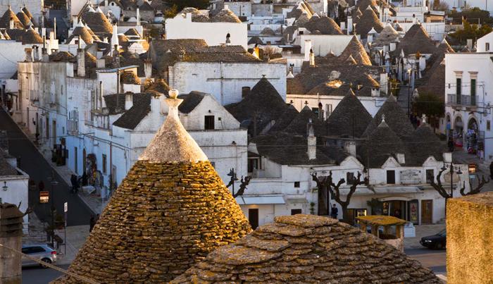 Alberobello: I Romantici Trulli