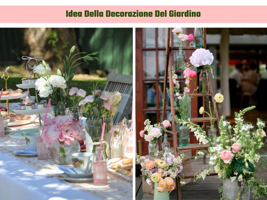 Idea della decorazione del giardino Festa