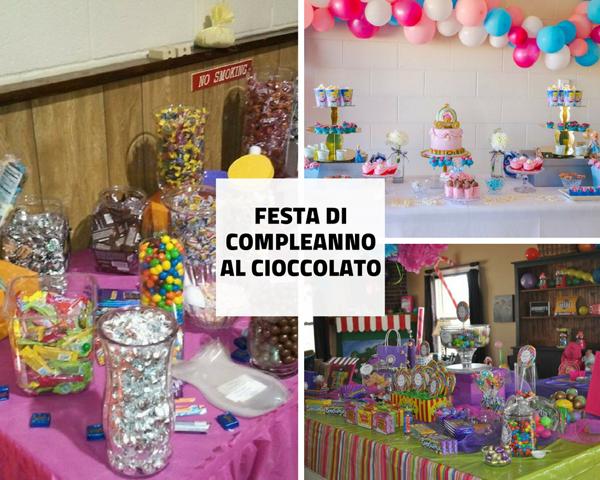 Festa Di Compleanno Al Cioccolato