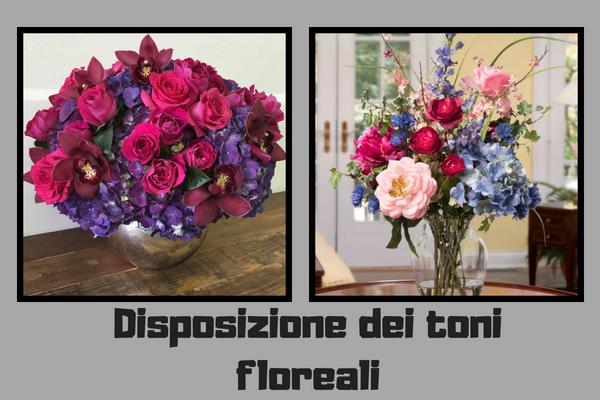 Disposizione dei toni floreali