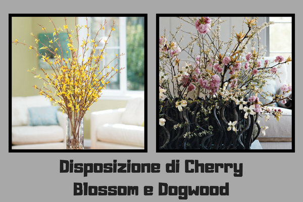 Disposizione di Cherry Blossom e Dogwood