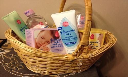 Cestino per la cura del bambino