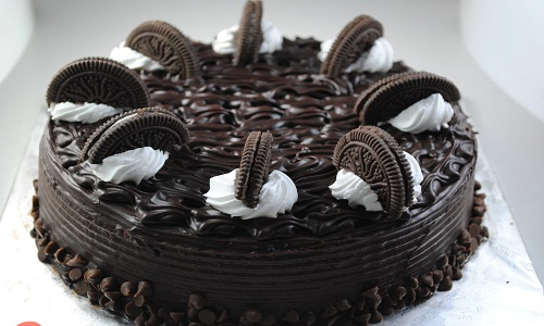 Torta al cioccolato Oreo