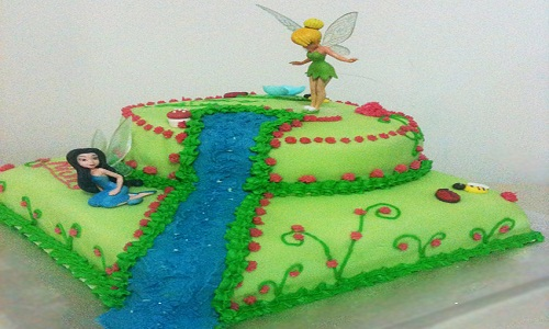 4. Belle torte a cascata