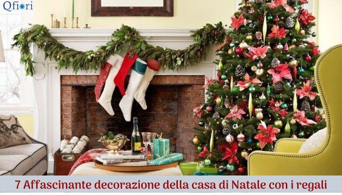 7 Affascinante decorazione della casa di Natale con i regali