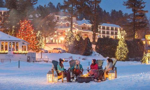 5. Festeggia il Natale con una nevicata colorata