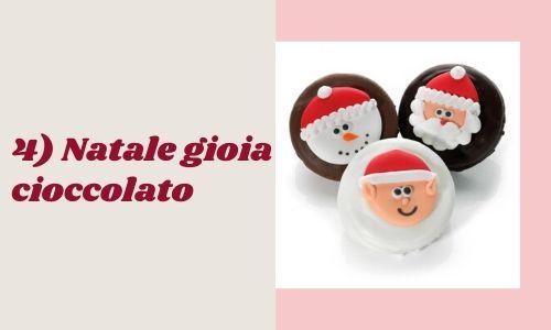 4) Natale gioia cioccolato