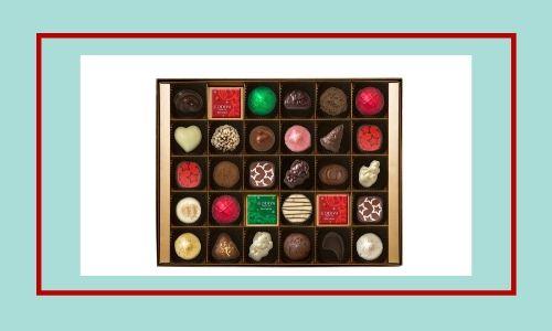 5. Scatola di cioccolato perfetta