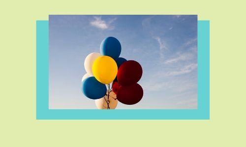 3. Palloncini colorati