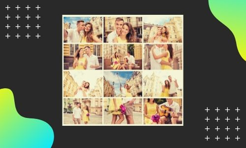1. Collage fotografico speciale