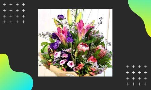 2. Mescolare il bouquet di fiori