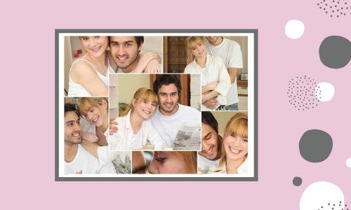 6. Collage di foto di coppia
