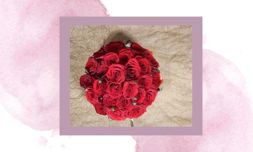 1. Bouquet di fiori romantico