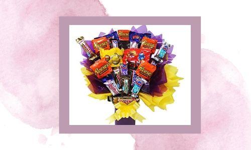 3. Bouquet di caramelle