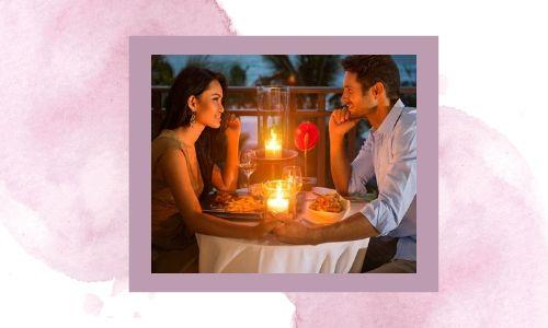 4. Una cena romantic