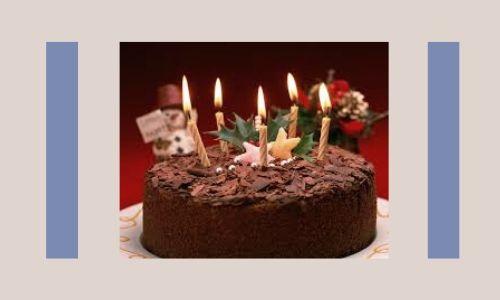 5. Torta di compleanno
