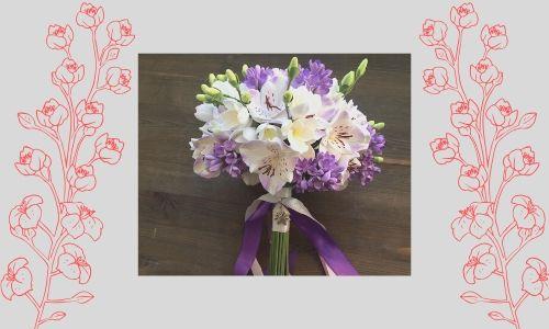 4. Bouquet di orchidee