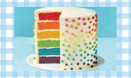 3.Torta arcobaleno