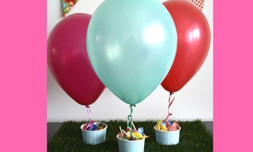 7) Palloncini pieni di dolci