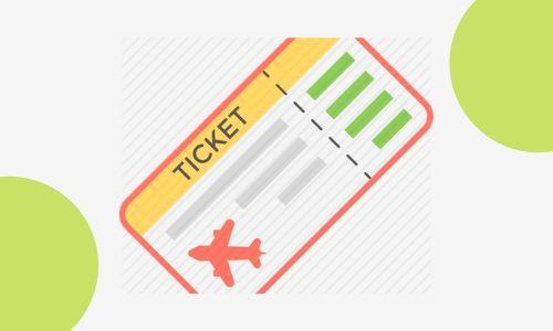 6. Biglietto di viaggio