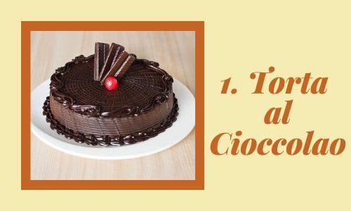 1. Torta al cioccolato