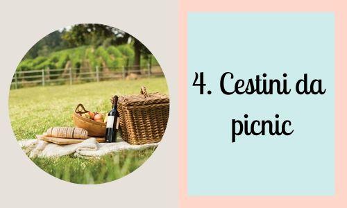 4. Cestini da picnic