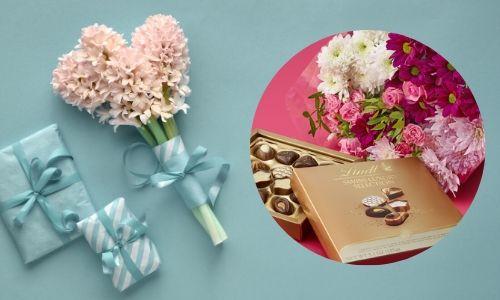 5. Fiore con cioccolatini