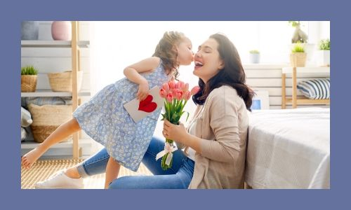 5. La mamma ama i fiori incondizionatamente