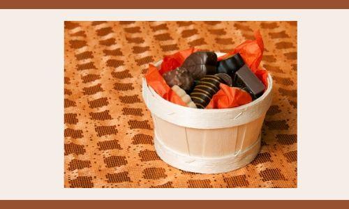 1) Cesto al cioccolato