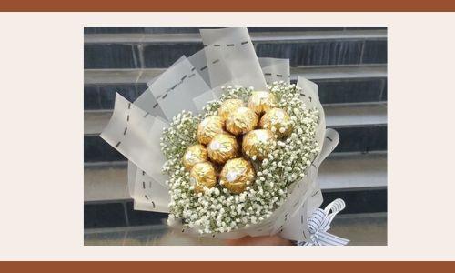 2) Bouquet di cioccolato
