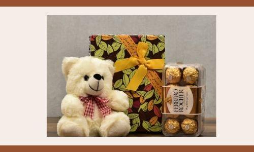 5) Cioccolato con orsacchiotto