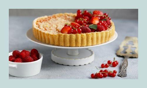 2) Torta cheesecake di frutta fresca speciale