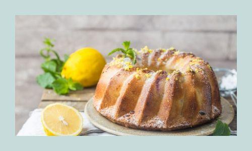 3) Semplice torta di limone Bundt