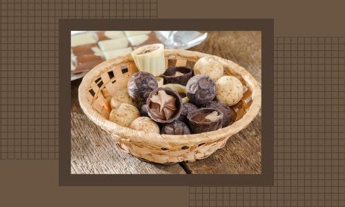 1) Cestini per il cioccolato perfetti