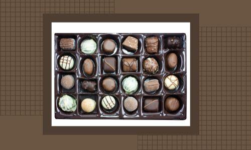 4) Scatola di tartufo al cioccolato