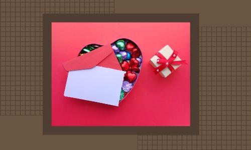 5) Lettera Scatola cioccolato