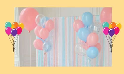 1) Ghirlanda perfetta di palloncini