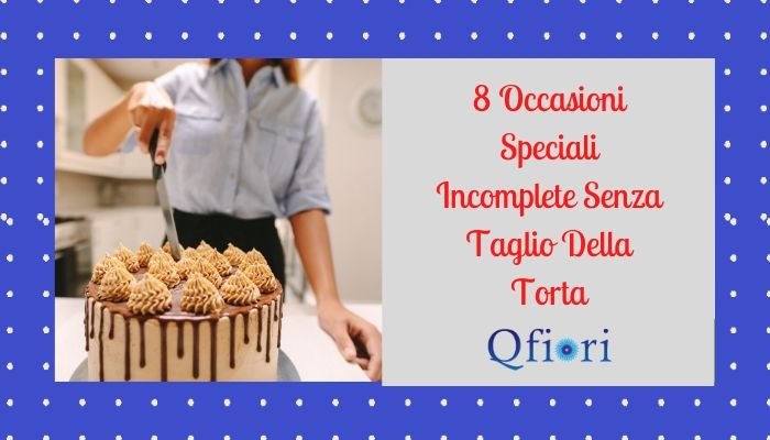 8 Occasioni Speciali Incomplete Senza Taglio Della Torta