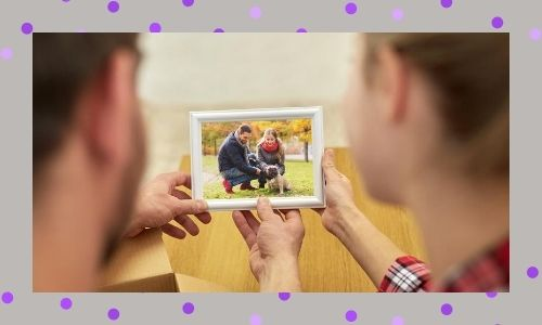 5. Cornice per foto personalizzata