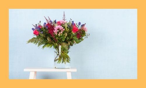 3) Bouquet di fiori