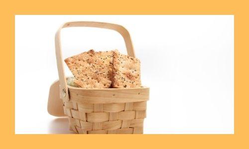 7) Cestino di snack sani