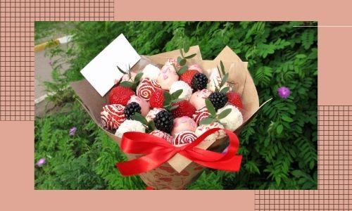 1. Bouquet di cioccolato speciale