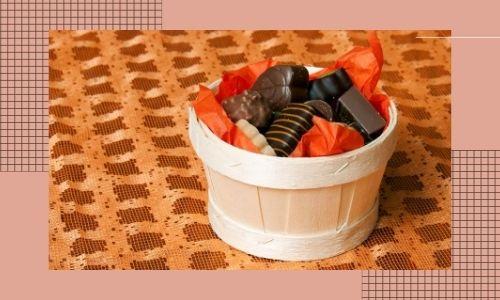 4. Cesti regalo di cioccolato