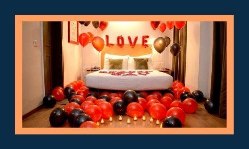 3. Decorare la stanza con palloncini e Rose