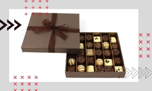 1) Scatola di cioccolatini
