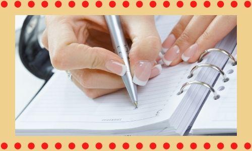 7. Invia note di scrittura a mano