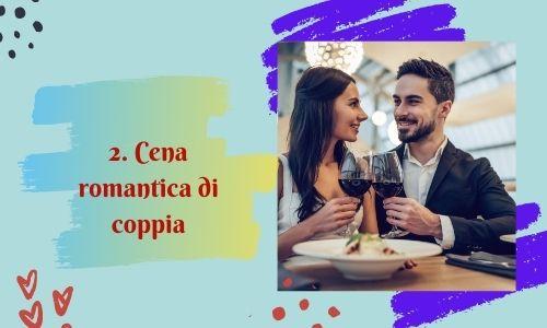 2. Cena romantica di coppia